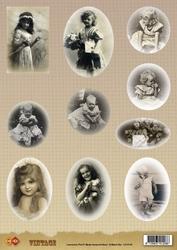 A4 Knipvel Carddeco Matori CD10193 Vintage