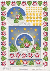 Picture Punch ponsvel kerstman