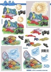 A4 Knipvel Le Suh 4169230 vis gerief/voetbal uitrusting