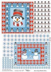 Picture Punch ponsvel sneeuwpop