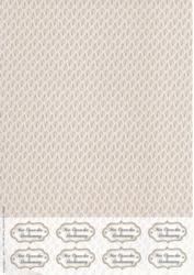 A4 Achtergrondvel Nel van Veen 3325 bruin blad