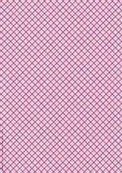 A4 Achtergrondvel Nel van Veen 3327 roze ruit