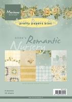 MD Pretty Paper Bloc PB7038 Eline's Romantic nursery