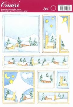 A5 Knipvel Ornare 30 Kerstnacht