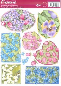 A5 Knipvel Ornare 33 Voorjaarsbloemen