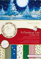 Forever Friends A Christmas Tale 160106 A5 Foiled Paper Pack