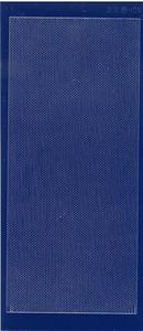 Stickervel Jeje 406 Fijne rand Donker Blauw