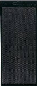 Stickervel Jeje 406 Fijne rand Zwart