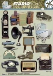 A4 Stansvel Studio Light Heren 243 Diverse oude dingen
