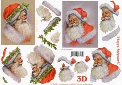 A4 Knipvel Le Suh Kerst 4169205 Kerstman
