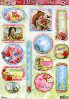A4 Stansvel Studio Light PASL01 Paper Art Spring Labels