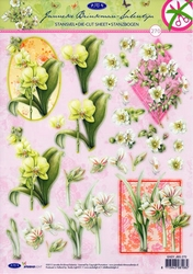A4 Stansvel Studio Light 270 Janneke Brinkman bloemen