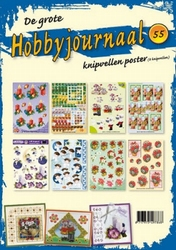 Knipvellen poster Hobbyjournaal 55
