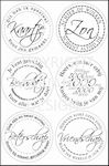 MD Clear stamps CS0853 Teksten algemeen rond