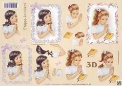 A4 Knipvel Le Suh 4169649 Communie meisjes