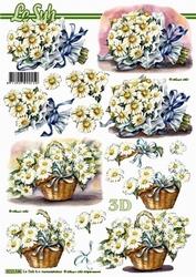 A4 Knipvel Le Suh 8215546 Bloemen Margrietjes/madeliefjes