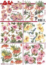 A4 Knipvel Le Suh 8215538 Mini diverse bloemen