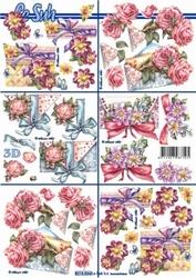 A4 Knipvel Le Suh 8215534 Mini diverse bloemen