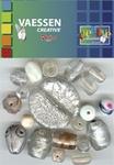 Kralen Crackle beads ass. crystal 23650-002