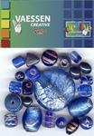 Kralen Crackle beads ass. blauw 23650-004