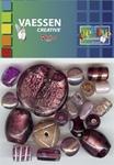 Kralen Crackle beads ass. paars 23650-007