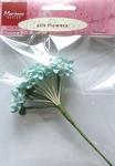 MD Silk flowers JU0854 Blue/blauw
