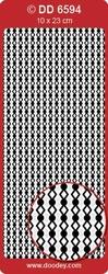 Sticker Doodey DD6594 Randjes Diamond/ruit