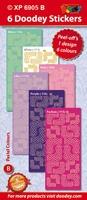 Sticker Doodey XP6905B Vlechtwerk Rond Hoeken