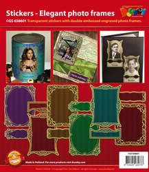 Scrapbook stickers Doodey GS658601 Elegante fo