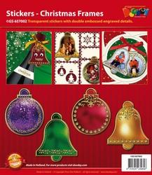 Scrapbook stickers Doodey GS657002 Kerstframes
