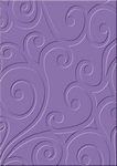 cArt-Us Embossing folder 8009 ornament krul