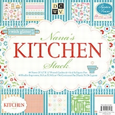 DCWV Paper stack PS-006-00046 Nana's kitchen