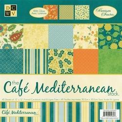 DCWV Paper stack PS-005-00083 Cafe mediterranean