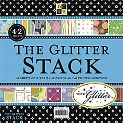 DCWV Paper stack PS-005-00018 The Glitter