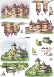 A4 Knipvel Le Suh  821512 Burcht/kasteel