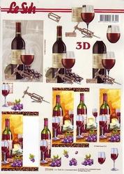 A4 Knipvel Le Suh 777015 Wijn