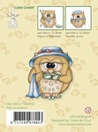 LeCreaDesign Clear stamp 558053 Owl Pipa in Summer
