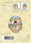 LeCreaDesign Clear stamp 558060 Owl Tweetke at Sea