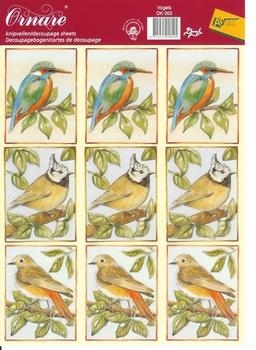 A5 Knipvel Ornare   3 Vogels