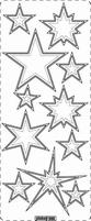 Kerst Stickervel PickUp Transp/borduur 365 Sterren