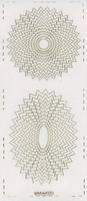 Stickervel PickUp Transparant 566 Cirkel/ovaal getand 24