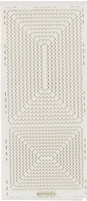 Stickervel PickUp Transparant 563 Rechthoek geschulpt 21