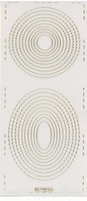 Stickervel PickUp Transparant 562 Cirkel/ovaal geschulpt 20