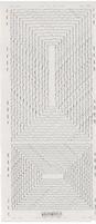 Stickervel PickUp Transparant 564 Rechthoek gekarteld 22