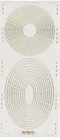Stickervel PickUp Transparant 565 Cirkel/ovaal gekarteld 23