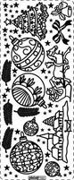 Kerststicker PickUp 190 Kerstfiguren