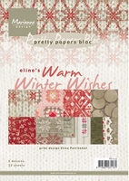 MD Pretty Paper Bloc PB7039 Eline's warm winter wishes