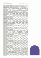 Stickervel Hobbydots Mirror STDM126 violet/lila