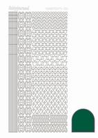 Stickervel Hobbydots Adhesive STDA122 groen