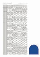 Stickervel Hobbydots Mirror STDM12A blauw